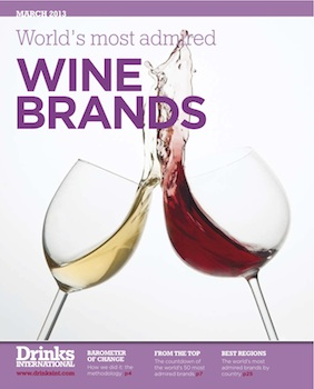 Concha y Toro voted World's Most Admired Wine Brand 2013 - Drinks International - The global choice for drinks buyers