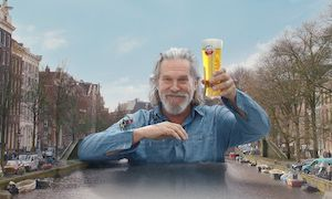 Jeff Bridges Amstel