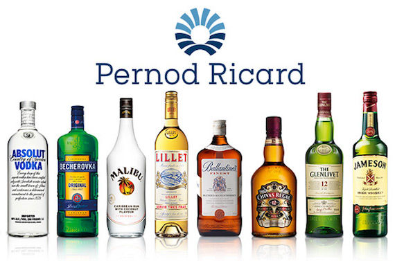 pernod ricard global travel retail
