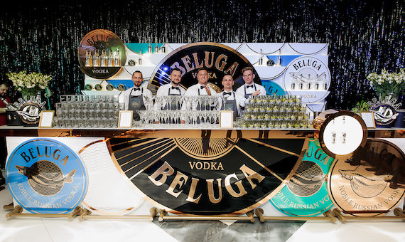 Beluga vodka Bar Convent Berlin