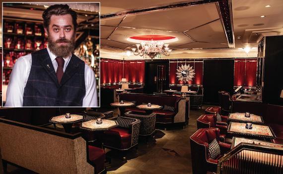 Cameron Attfield Baccarat Bar harrod's